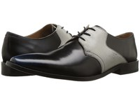 Giorgio Brutini Gotham Navy Gray Lace Up Wing Tip Shoes Blue