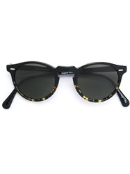 Oliver Peoples 'Gregory Peck' Sunglasses Black