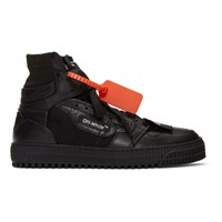 Off White Black 3.0 Court Sneakers