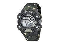 Timex Expedition Base Shock Watch Black Green Camo Gray Watches