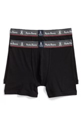 Psycho Bunny Men's Motion 2 Pack Boxer Briefs