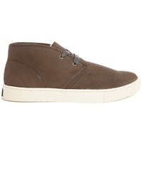 Polo Ralph Lauren Chukka Taupe Leather Fur Lined Shoe