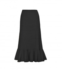Altuzarra Wool Midi Skirt Black
