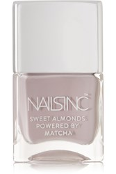 Nails Inc Sweet Almonds Powered By Matcha Nail Polish Cornwall Gardens Gray