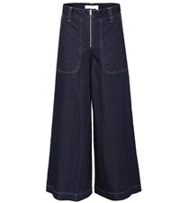 See By Chloe Wide Leg Jeans Blue