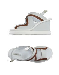 Dries Van Noten Footwear Sandals Women White