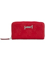 Tod's Double T Wallet Red
