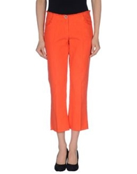 Irma Bignami 3 4 Length Shorts Orange