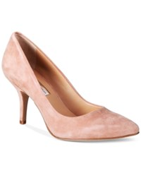 Inc International Concepts Womens Zitah Pointed Toe Pumps Only At Macy's Women's Shoes Blush