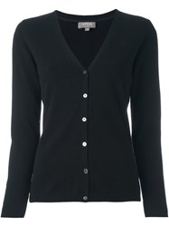 N.Peal V Neck Cardigan Black