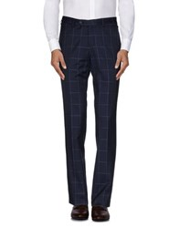 Gi Capri Trousers Casual Trousers Men Dark Blue