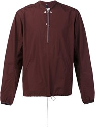 Oamc Pullover Jacket Red