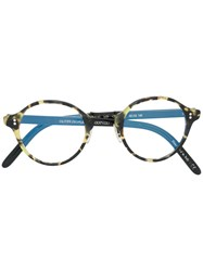 Oliver Peoples Op 1955 Glasses Acetate Metal Other Black