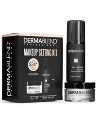 Dermablend Makeup Setting Kit Only 34 With Any Foundation Purchase A 51 Value Only At Macy's Pwp Set Kt