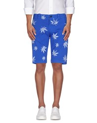 S.O.H.O New York Soho Trousers Bermuda Shorts Men Blue