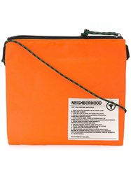 Neighborhood Patch Shoulder Bag Orange