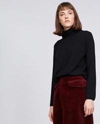 Aspesi Wool Sweater Black