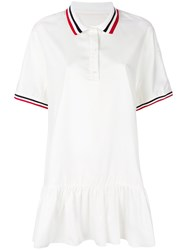 Moncler Gamme Rouge Glissade Dress White