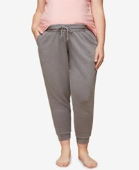 Motherhood Maternity Plus Size Jogger Pants Grey