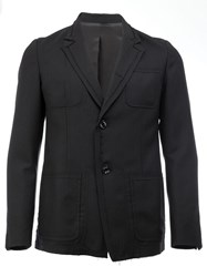 'The Shepherd Undercover' Blazer Black