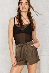 Nasty Gal Bobby High Waisted Shorts