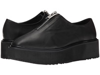 Unif Output Creeper Black Leather Women's Slip On Shoes