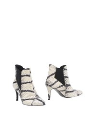 Luca Valentini Footwear Ankle Boots Women Ivory