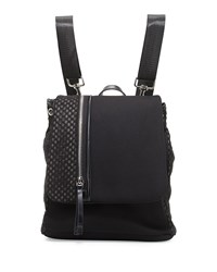 Gx By Gwen Stefani Helga Mesh Panel Neoprene Backpack Black
