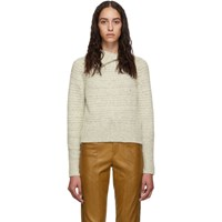 Isabel Marant Off White Arctic Knit Effy Turtleneck