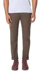 Ben Sherman Slim Stretch Chino Pants Dark Forest