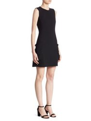 Victoria Beckham Pocket Mini Dress Black