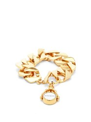 Givenchy Twisted Curb Chain Bracelet Gold