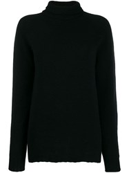 Ma'ry'ya Long Line Jumper Black