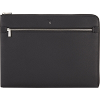Serapian Zip Portfolio Black