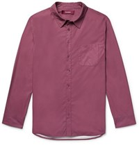 Sies Marjan Sander Washed Shell Shirt Plum