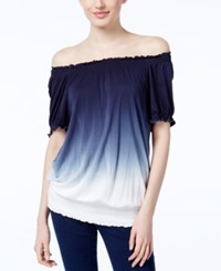 Inc International Concepts Dip Dyed Off The Shoulder Top Only At Macy's