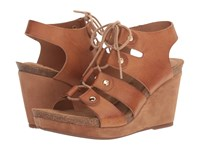 Sofft Carita Luggage Oyster Kid Suede Women's Sandals Brown