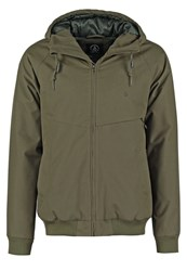 Volcom Hernan Light Jacket Military Green