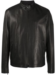 Belstaff Zipped Leather Jacket 60