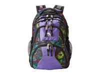 High Sierra Swerve Backpack Flower Stich Lilac Night Mercury Backpack Bags Purple