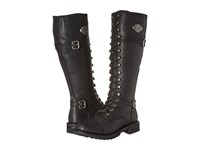 Harley Davidson Beechwood Black Women's Lace Up Boots