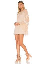 Amanda Uprichard Noel Dress Beige