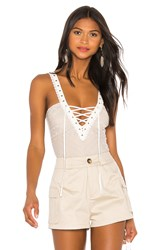 Thistle And Spire Bleeker Bodysuit White