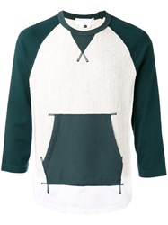 Ganryu Comme Des Garcons Pile Lined Sweatshirt Green