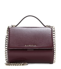 Givenchy Pandora Box Mini Patent Leather Shoulder Bag Red