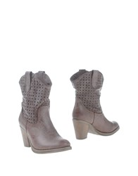 Francesco Milano Footwear Ankle Boots Women Beige