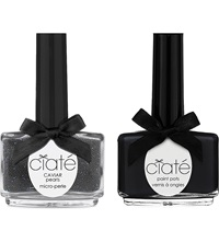 Ciate Caviar Manicuretm Kit Black Paint Pot Black Pearl