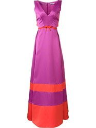 Zac Posen 'Caroline' Dress Pink Purple