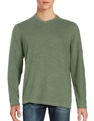 Tommy Bahama Sedona Sands V Neck Sweater Green
