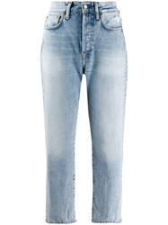 Acne Studios Straight Fit Jeans Blue